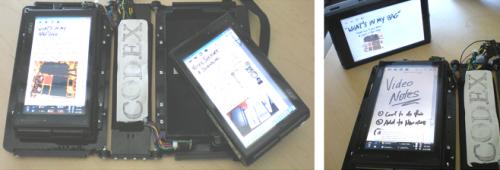 Detachable screen on Codex