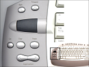 Bimanual Interaction on the Microsoft Office Keyboard