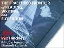 Thumbnail - The Fractured Frontier of Reading, Writing, and E-Creation
