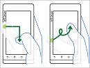 Mobile Touch-Screen Gestures