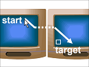 Mouse Ether Technique for Multi-Monitor Displays