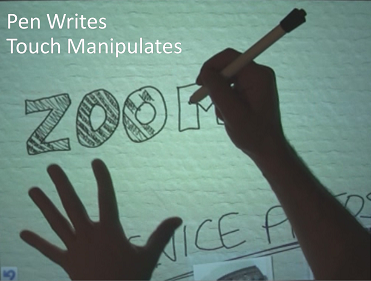 Pen Writes, Touch Manipulates