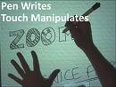 Simultaneous Pen + Touch