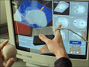 Applications for the Touchscreen in 2D and 3D Medical Imaging Workstations