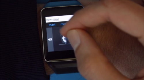 Analog Keyboard on Samsung Gear Live watch