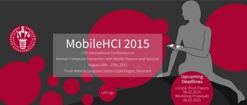 Mobile HCI 2015 banner